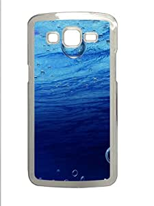 Underwater Bubbles Polycarbonate Hard Case Cover for Samsung Galaxy Grand 2¨C Transparent