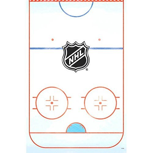Amscan Sports and Tailgating NHL Party NHL Ice Time! Table Cover Tableware, Paper, 54