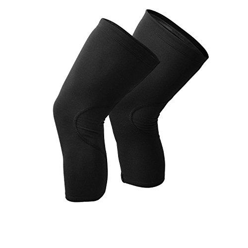 Snēk Cycling Merino Knee Warmers - S Black