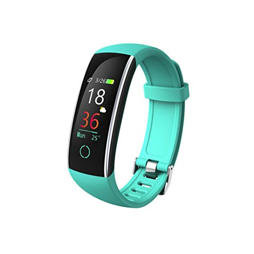 Resin Watch Dive Case (Botrong Smart Color Screen Blood Pressure Exercise Heart Rate Pedometer Smart Watch (Green))