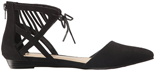 Fergalicious Toe Flat Black Women's Coco Pointed xxAq6FT