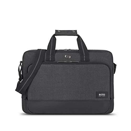 Solo Astor 15.6 Inch Laptop Slim Brief, Grey ()