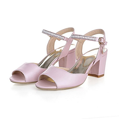 Fashion Pink M Soft 1TO9 B US 7 Solid Girls Sandals 5 Material tqBw1xEO