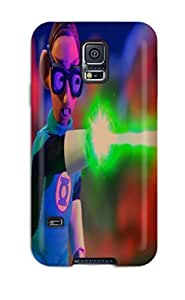First-class Case Cover For Galaxy S5 Dual Protection Cover Robot Chicken Dccomicscomics