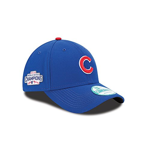 Chicago Cubs New Era 2016 World Series Champions 9Forty Side Patch Adjustable Hat -Royal New Era Adjustable Hat