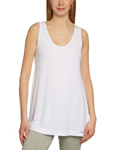 Skiny Lounge Mix & Match - Camiseta de pijama de sin mangas para mujer Blanco 500