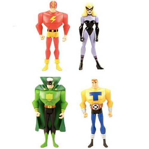 (DC Universe Justice League Unlimited Exclusive Justice Guild Set of 4 Action Figures)