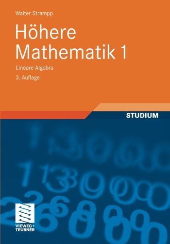 Höhere Mathematik 1: Lineare Algebra