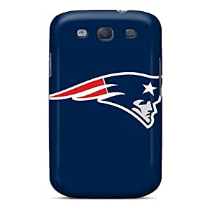 Perfect Cell-phone Hard Covers For Samsung Galaxy S3 (yMw629omKY) Custom Colorful New England Patriots Pattern