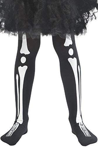 Skeleton Halloween Fancy Dress Costume Ladies Stockings