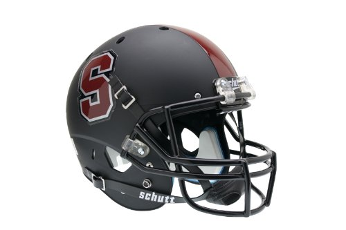 Schutt NCAA Stanford Cardinal Replica XP Helmet - Alternate 1 (Matte Black)