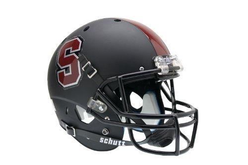 Schutt NCAA Stanford Cardinal Replica XP Helmet - Alternate 1 (Matte Black)
