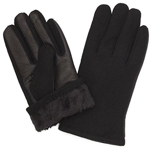 Benson Brown Fleece Leather winter