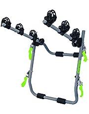 GO BIKER - Fietsendrager voor maximaal 4 fietsen aan trekhaak en achterklep.