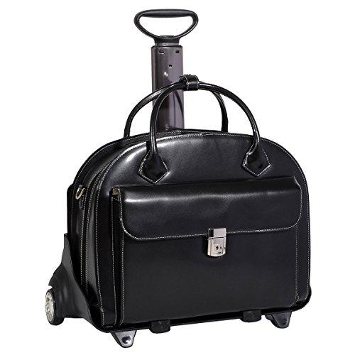 mcklein-usa-glen-ellyn-w-series-wheeled-ladies-154-briefcase-tote-bag-black