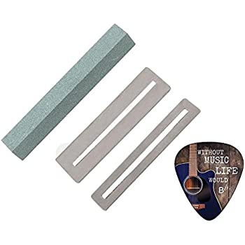 fingerboard guards and guitar fret file cleaning tool set by creanoso musical. Black Bedroom Furniture Sets. Home Design Ideas