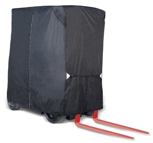 Eevelle Fork-Stor 8-Ounce Marine Grade Woven Polyester Forklift Cover (Fits Up to 8,000 lbs) ()