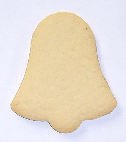 Scott's Cakes Undecorated Christmas Bell Sugar Cookies