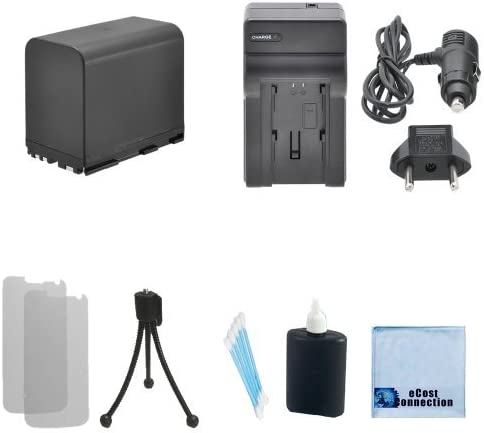 XL-H1S /& More XL-H1 XL-1 Camcorder BP-970G Rechargeable Battery XL-1S Car//Home Charger for Canon Canon GL-1 XM-2 GL-2 XL-H1A XL-2 Complete Starter Kit XM-1