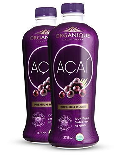 ORGANÍQUE Açaí Premium Blend 32 oz (Multi-Pack) ()