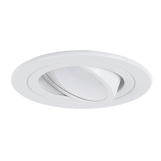 Techo de foco Completo | – Focos empotrables LED 5 W | techo foco blanco redondo