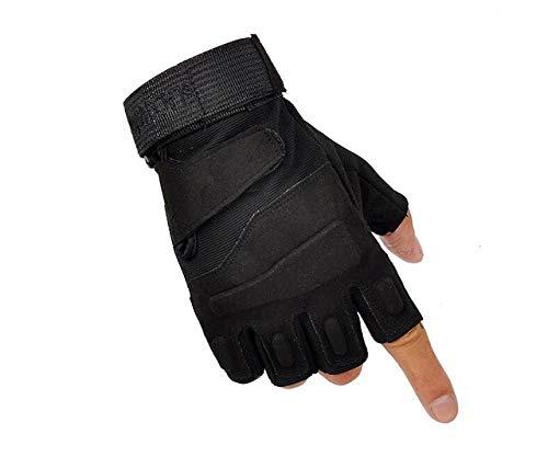 GALIOK Handschuh Outdoor-Sporthandschuhe Wandern Camping Tackle Handschuhe M Schwarz Camping & Outdoor