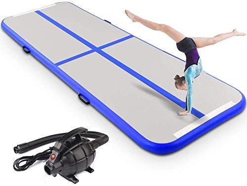 空気注入式 体操マット 体操 プロフェッショナル エアトラック タンブリングマット 家庭 ビーチ 公園 水用