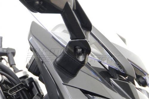 Spiegel Verl/ängerung Verbreiterung Verkleidungsspiegel Yamaha FJR 1300 Schwarz