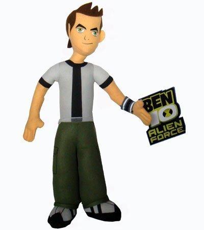 Cartoon Network Alien Force Ben 10 9-Inch Plush Figure (Ben 10 Alien Force In Hindi Full Episodes)