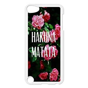 DIY Case Cover for iPod touch5 w/ Hakuna Matata image at Hmh-xase (style 9)
