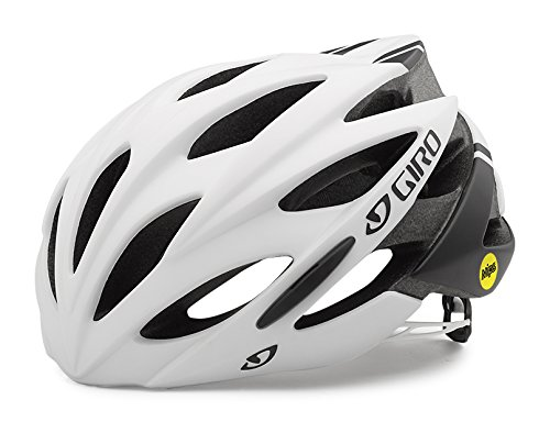 Giro Savant Mips Road Helmet, Matte White/Black, Large/15""