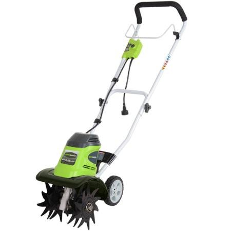 Greenworks 8-Amp 10'' Corded AC Cultivator