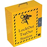 6 Padlock Lockout Station; 16 x 14 x 6in