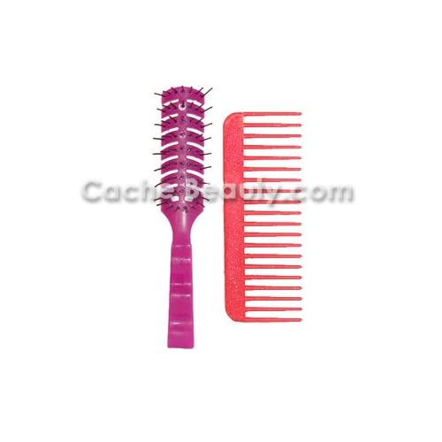 Bobby Vent Brush Purple With Free Volumizing Comb supplier