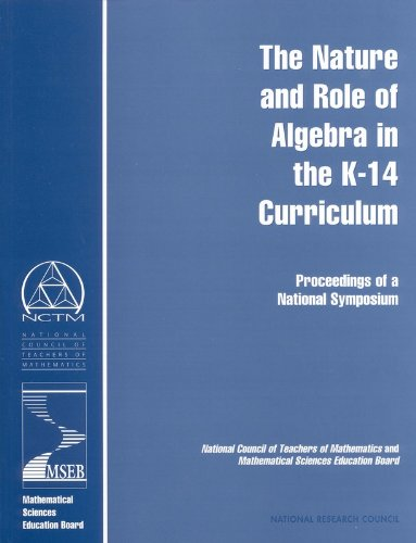the-nature-and-role-of-algebra-in-the-k-14-curriculum-proceedings-of-a-national-symposium-compass-se