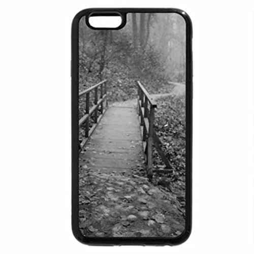 iPhone 6S Plus Case, iPhone 6 Plus Case (Black & White) - Wonderland