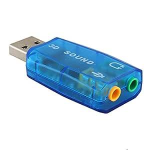Portátil USB tarjeta de sonido USB Audio 5.1 tarjeta de sonido externa USB adaptador de Audio