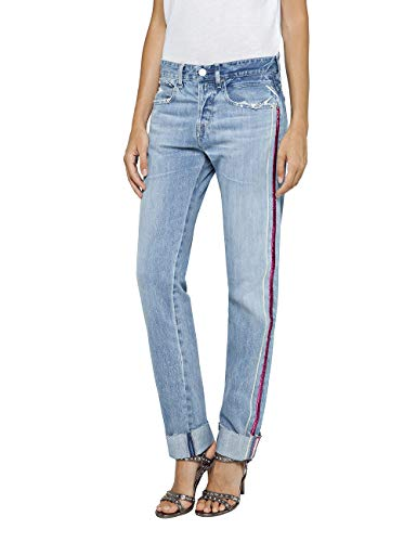 Azul light Replay Para Blue Vaqueros Heter 10 Mujer Boyfriend c4qqg7FyB