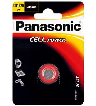 f53a8ac2d5a4cc Panasonic pile bouton au lithium 3 v (cR 1220 p  Amazon.fr  Photo ...