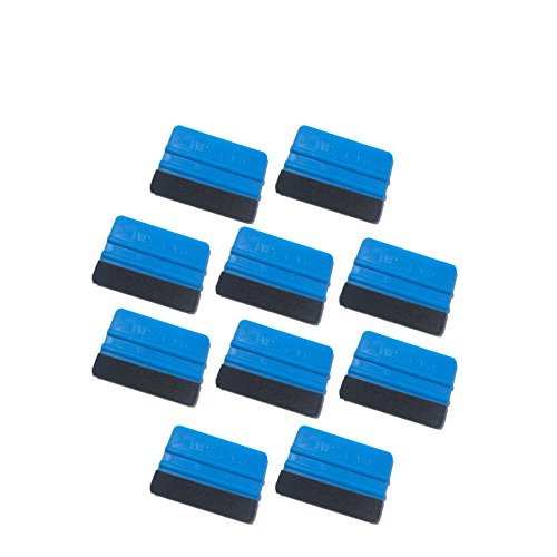3M Felt squeegee 10 pack hand applicator tool P.A.-1 Blue -