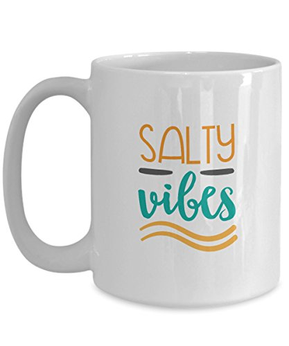 Coffee Mug - Salty Vibes by Tech Fashion