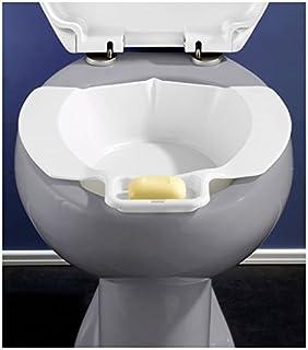 Bath White NRS Healthcare Washing Bidet Bowl Toileting Aid Portable Training