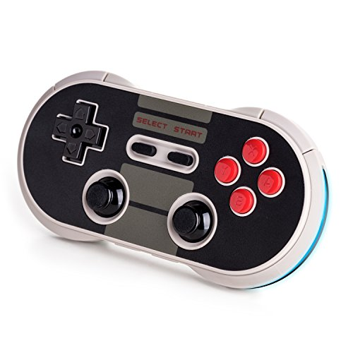Lobeliaer 8bitdo NES30 Pro Wireless Bluetooth Controller for