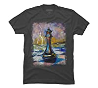 QUEEN OF CHESS Men's Graphic T Shirt - Design By Humans