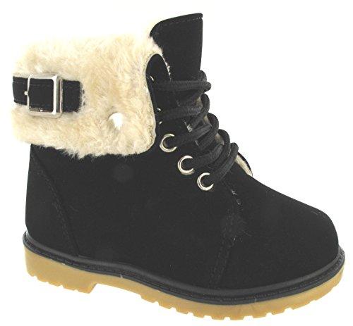 De Botas Tobillo Negro Invierno Ni Os Imitacin Os Piel Sz Y Deporte As Forradas Para Zapatos c qt5x6AU