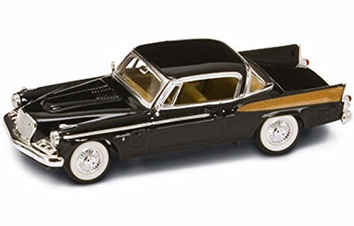 (StarSun Depot 1958 Studebaker Golden Hawk Black 1/43 Model Car by Road Signature)