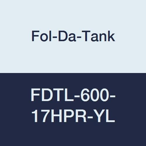 17 oz Fol-Da-Tank FDTL-600-17HPR-YL Replacement Liner with Easy Lift Handles 63 x 63 x 29 Yellow for Steel or Aluminum Frame High Performance Rubber