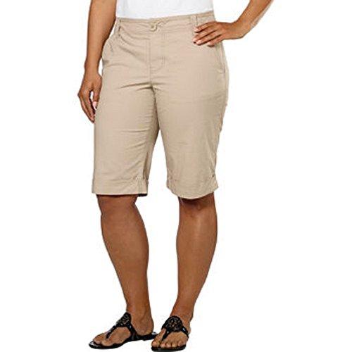 - DKNY Jeans Ladies' Bermuda Short, Khaki, 2