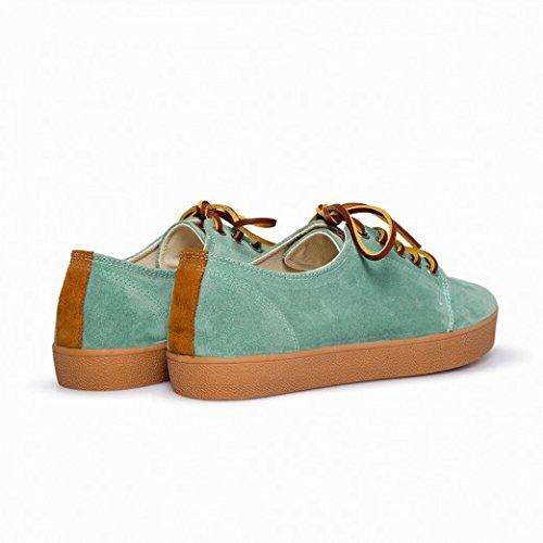 Pompeii, Zapatillas Mujer, Higby, Turquise Caramel, 41: Amazon.es: Zapatos y complementos