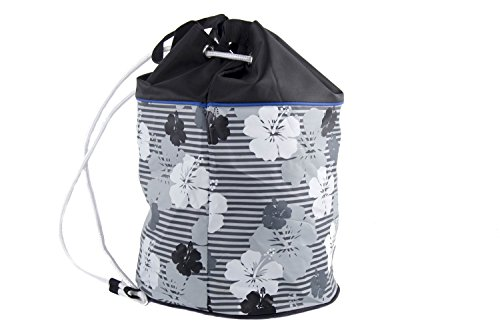 Bolsa playa piscina mujer GIANMARCO VENTURI negro backpack de hombro